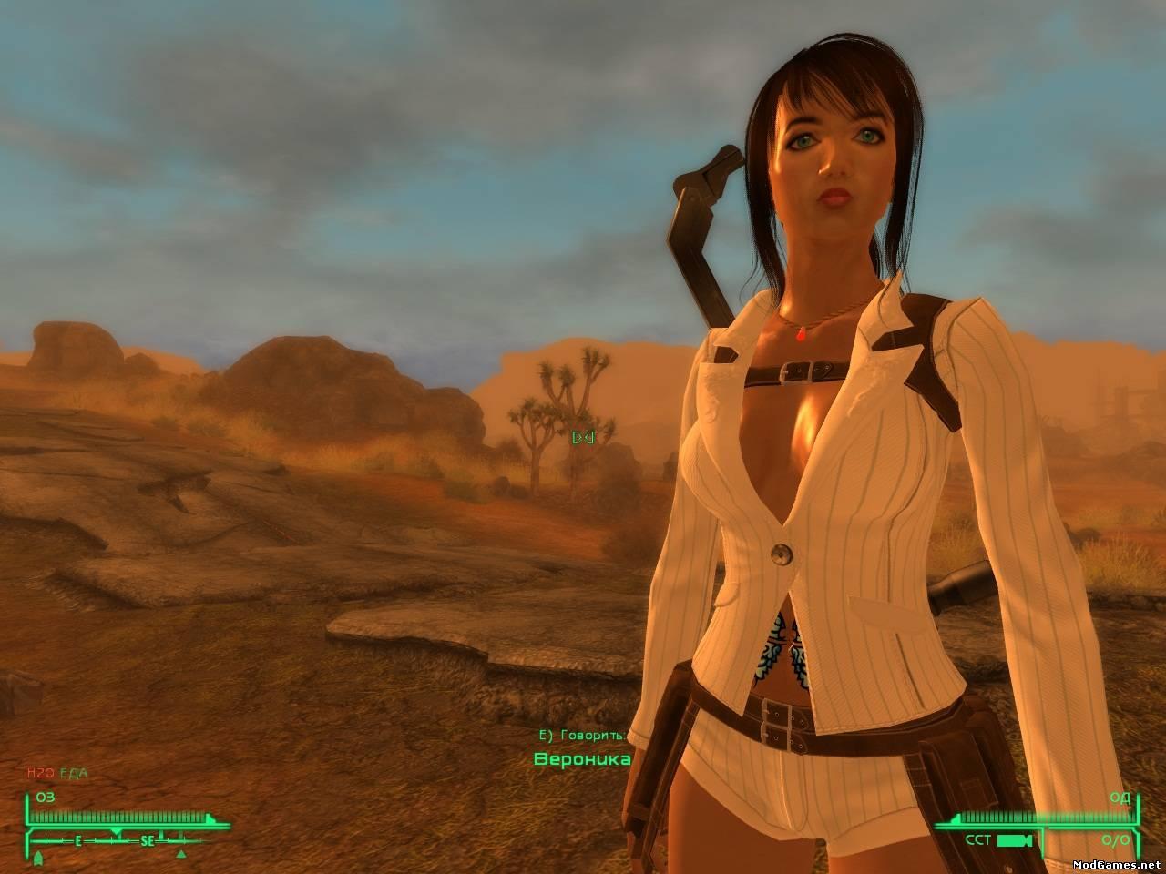 Fallout new vegas мод прически
